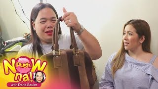 Push Now Na: Angeline Quinto's bag raid