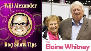 Dog Show Tips Interview with Elaine Whitney