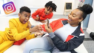Reading Our Son's DM'S On INSTAGRAM 😱 | The Williamson Family