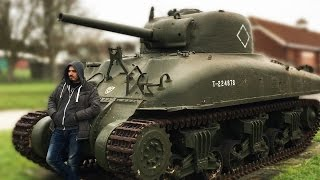 WHAT I DID IN ENGLAND! REAL LIFE TANKS N STUFF! (LazarVlog)