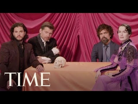 Join The Game Of Thrones Cast For Family Dinner At Their Exclusive TIME Magazine Cover Shoot | TIME