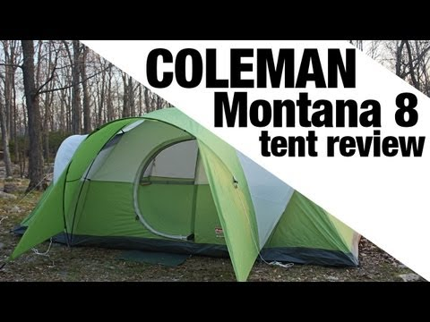 627 & Coleman Montana 8 Tent Review - YouTube