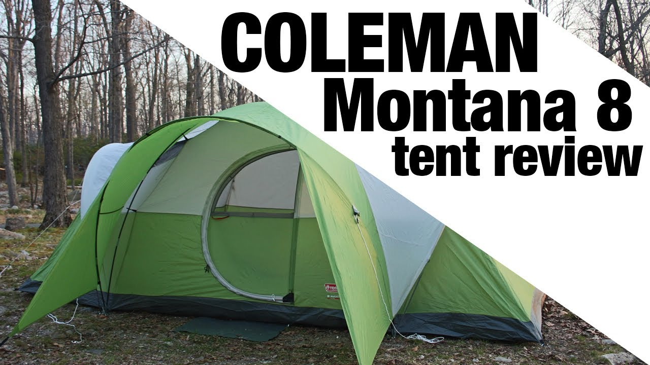& EXCLUSIVE: Coleman Montana 8 Review - YouTube