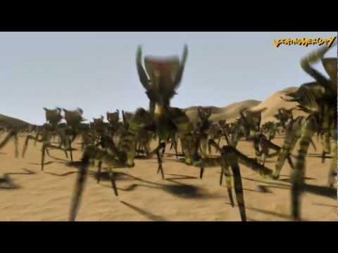 Arachnids Warriors - Fun with LightWave Instance
