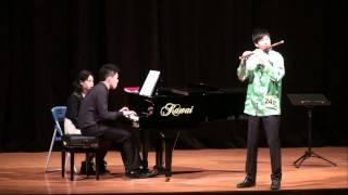 《靈巧的吐音》《 山村迎親人》 笛獨奏-鄭昭聖-100學年度全國學生音樂比賽