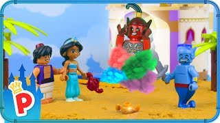 ♥ LEGO Jasmine Releases BAD GENIE from the Cursed Magic Lamp