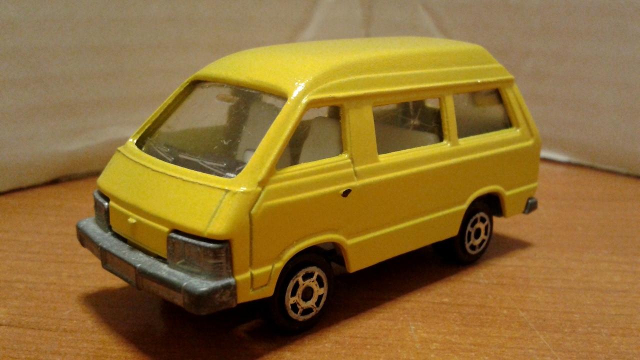 0e284b3602fe8f MODELLISMO - Restauro Toyota LiteAce M20 (Majorette 1/52) - YouTube