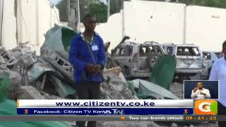 Death toll from twin car bomb blast in Mogadishu hits 45