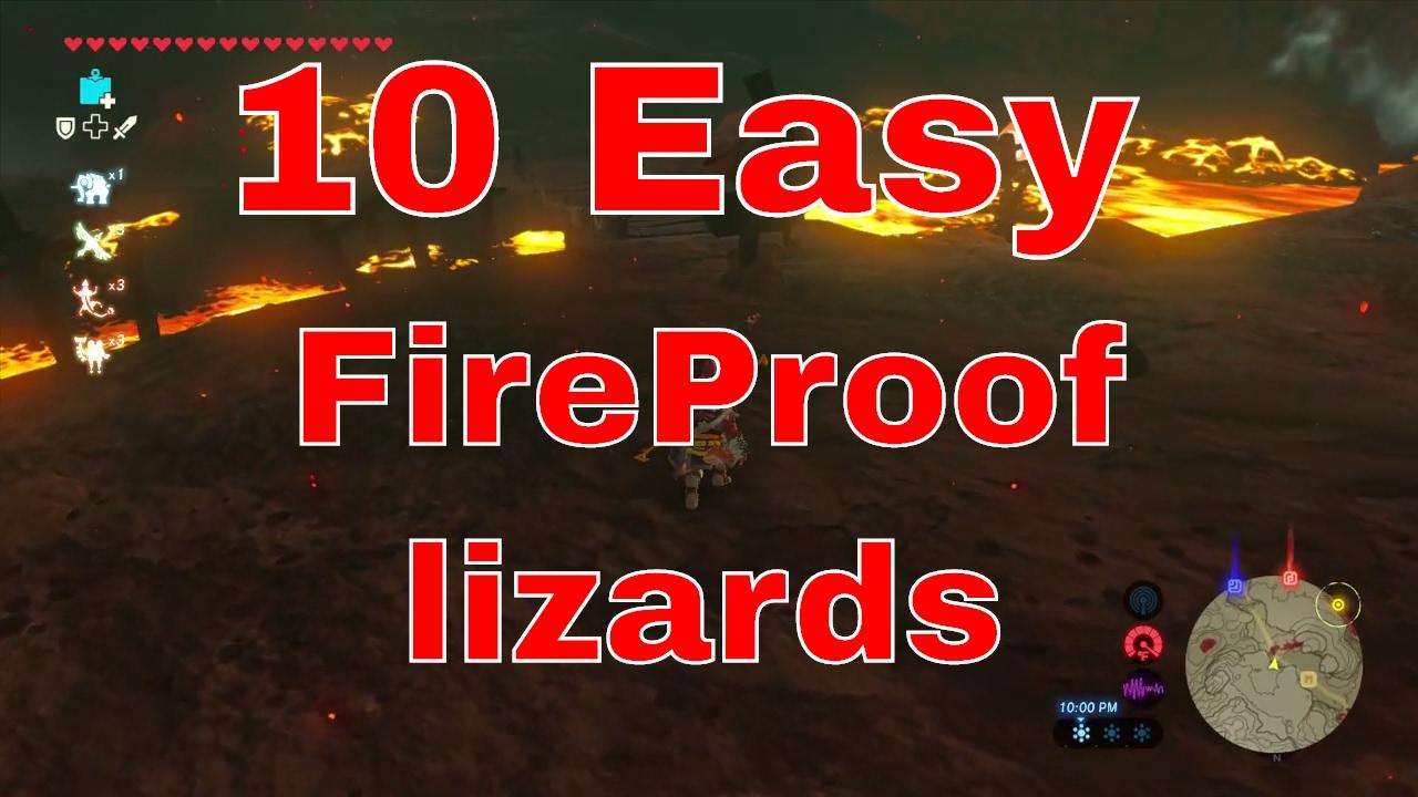 botw how to get more fireproof elixir
