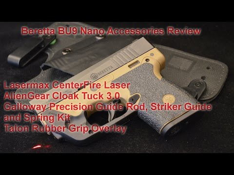 Beretta Nano accessories review.