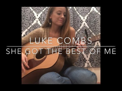 Luke Combs- She Got The Best Of Me