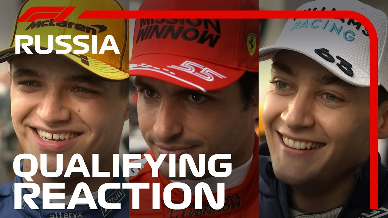 Download Drivers React After Qualifying | 2021 Russian Grand Prix