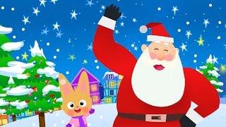 Chanson de Noël pour enfants - comptines pour enfants - père Noël - comptines