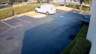 Security Cameras footage Thanksgiving day