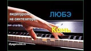 Видеоурок на синтезаторе ЛЮБЭ Конь