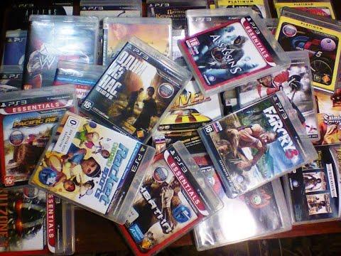 Моя коллекция дисков для Sony PS3