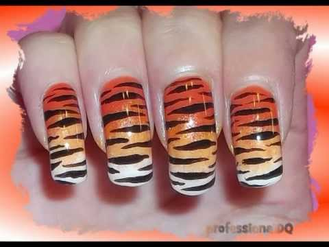 Sexy Tiger Nail Art Youtube