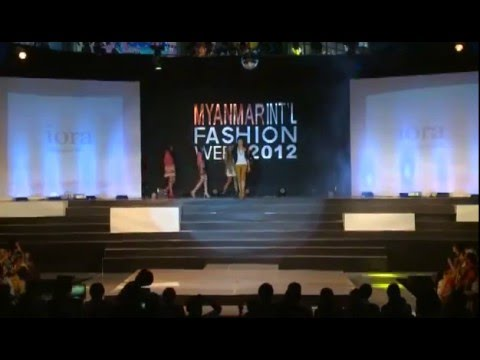 First Annual Myanmar International Fashion Week - Day3