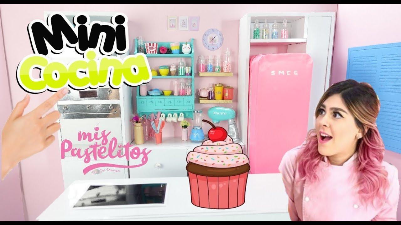 Cocina Miniatura De Mis Pastelitos Youtube