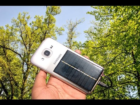How To Make Free Enargy Emergency Mobile Phone Charger Use Solar Plate