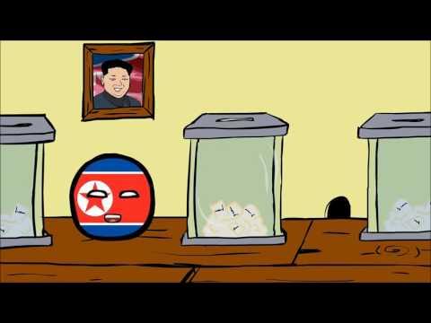 Countryballs Выборы в Северной Корее   Elections in North Korea