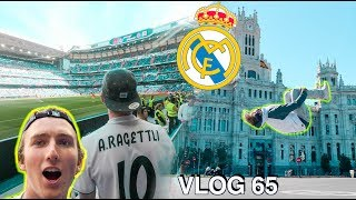 I watched my first Real Madrid game!  *amazing* | VLOG 65