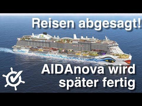 AIDAnova wird später fertig - Vorpremieren abgesagt - Schiffstester Matthias Morr