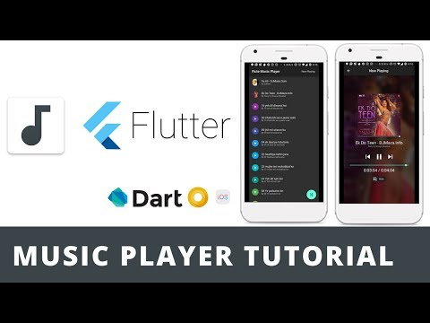 Flutter: Music Player Tutorial | Basic Demo | Open Source