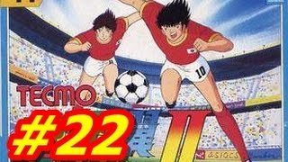 Captain Tsubasa 2 NES #22 Japan Vs Syria (English) HD