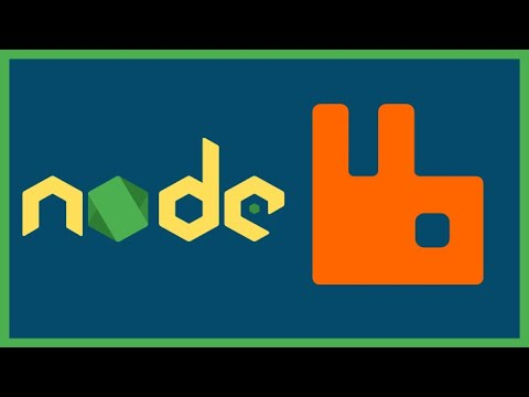 Spinning a lightweight RabbitMQ instance and Consume it with NodeJS