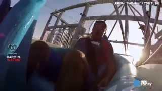 lifeguards take on verruckt world s tallest water slide