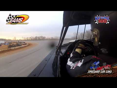 #32 Jeff Dean - KMSA Mini Stock - National 100 - 1-27-19 East Alabama Motor Speedway