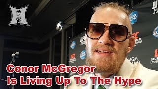 After UFC 178, Conor McGregor Talks Fast Poirier Finish, Thumb Injury + Title Fights