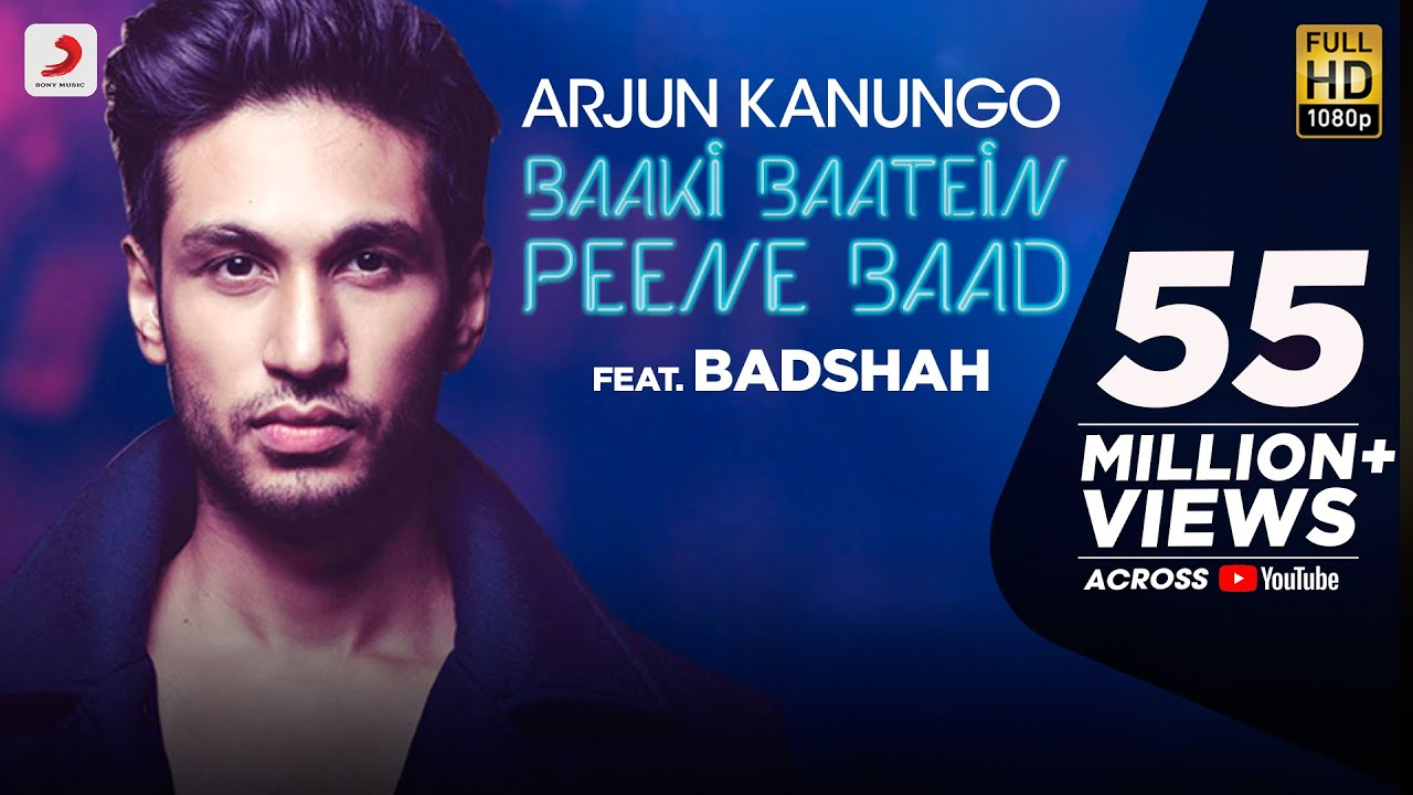 Baaki Baatein Peene Baad - Arjun Kanungo feat. Badshah | Nikke Nikke Shots | Party Song of The Year #1
