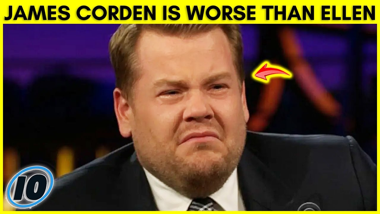 James Corden Is WORSE Than Ellen DeGeneres