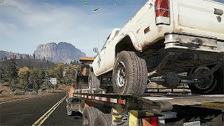 Far cry 5 Hauling Away Old abandoned Vehicles