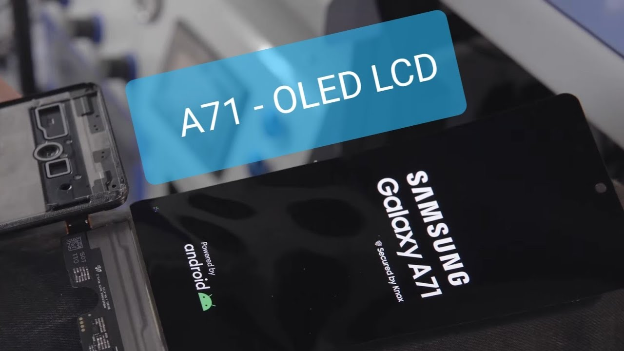 Замена стекла Самсунг A71 OLED, Replacing glass in samsung A71 , разборка А71, выездной ремонт Минск