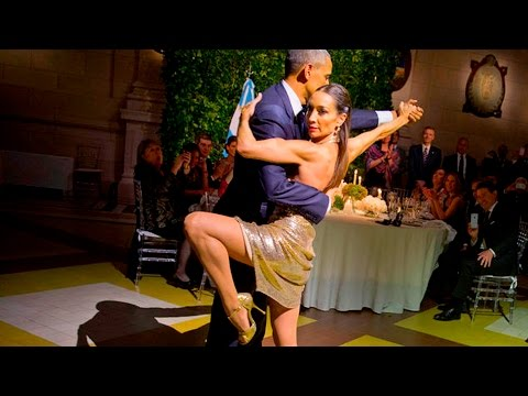 Barack Obama baila Tango en Argentina - Vídeo Completo