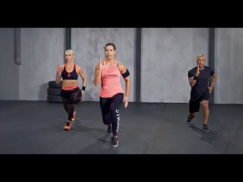 Intense Cardio Toning Workout Strong Nation 20 Minute Demo Youtube