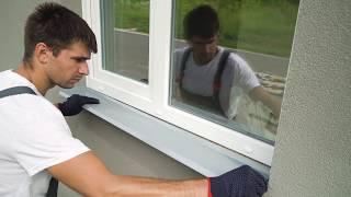 как сделать отливы на окна своими руками