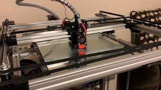 Tronxy X5s and Klipper printing at 250 mm/s