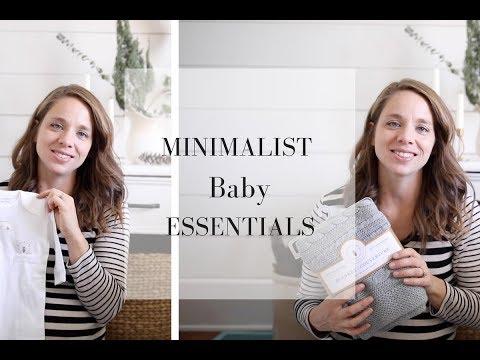 Minimalist Baby Essentials- Baby Checklist