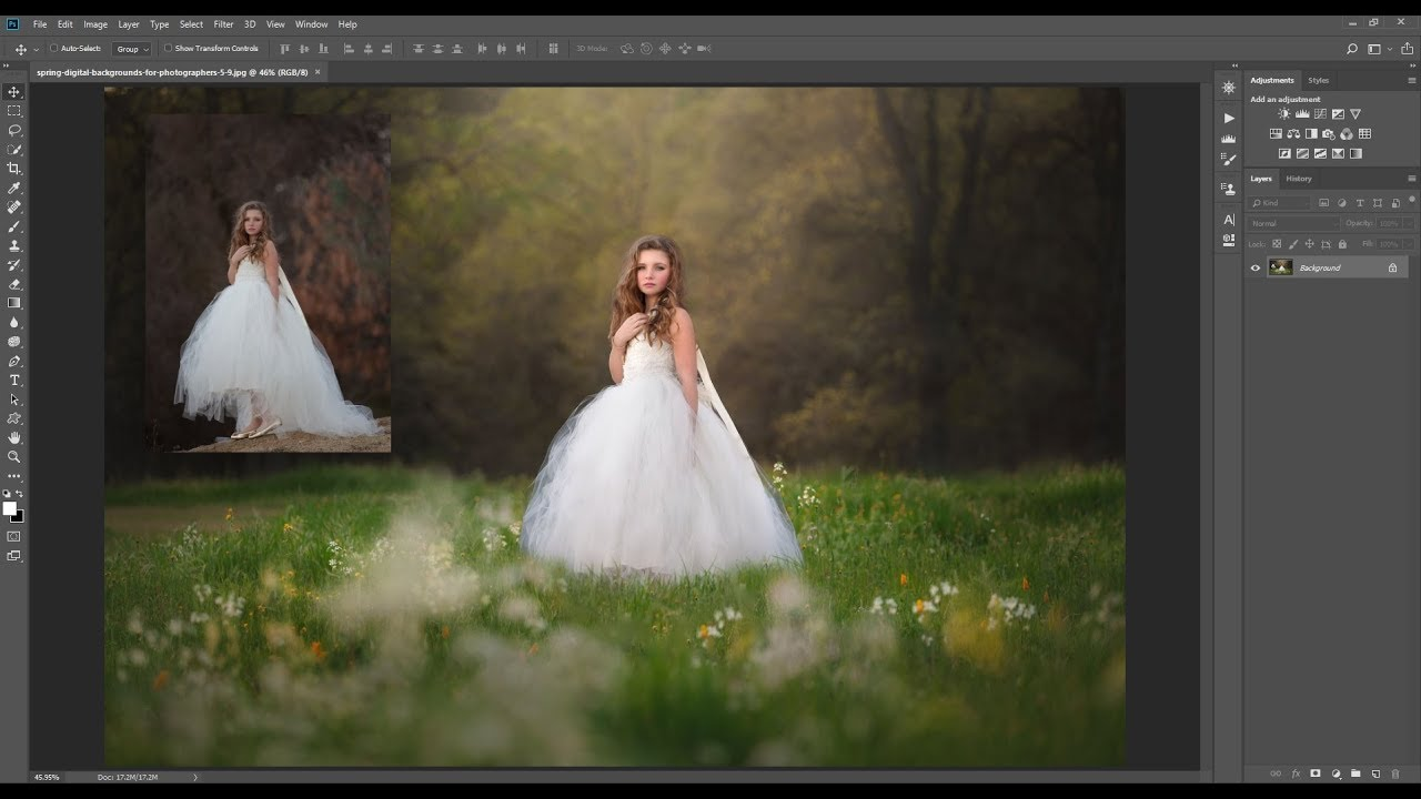 How To Change Your Background Digital Background Compositing Editing Workshop Preview Youtube