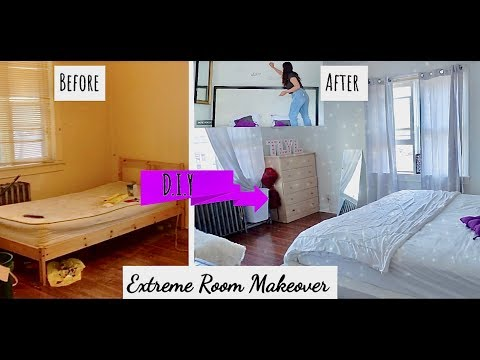 Bedroom Makeover Before and After - DIY Ideas | Canada | ThatLookYouLove