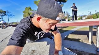SNEAKING ONTO SCHOOL ROOF! *COPS CALLED* | Garrett Ginner