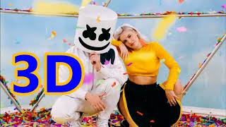 Marshmello & Anne-Marie [3D AUDIO] - FRIENDS * FRIENDZONE ANTHEM*