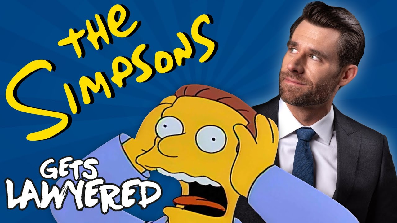 Legal Eagle Real Lawyer Reacts to The Simpsons (Itchy & Scratchy Trial)
