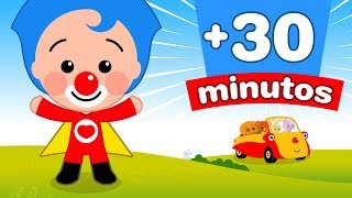 30 Minutos de Captulos y Canciones de Plim Plim  El Reino Infantil
