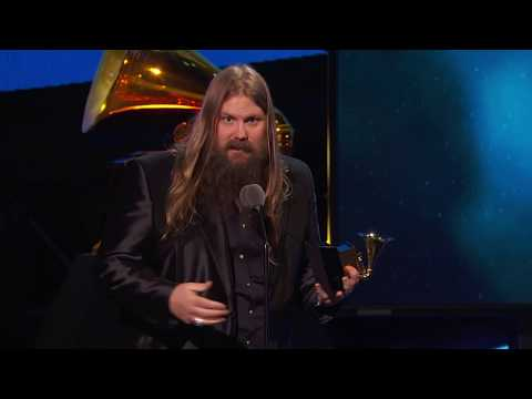 Chris Stapleton Wins Best Country Solo Performance  | Acceptance Speech | 60th GRAMMYs