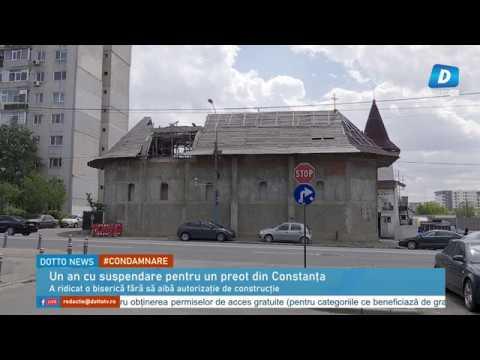 Un an cu suspendare închisoare pentru un preot din Constanța